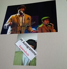 GREGORY PORTER IN-PERSON signed Autogramm Foto 20x30