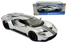 MAISTO SPECIAL EDITION 2017 FORD GT 1/18 DIECAST CAR SILVER 31384SIL