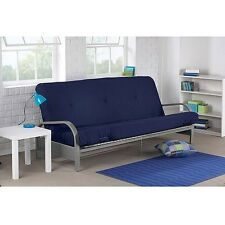 Futon Sofa Bed with MATTRESS Modern Convertible Sleeper Lounger Dorm Couch NEW