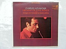 Charles Aznavour His Kind Of Love Songs 1966 Reprise Orig 1A/1A Press w/Inner VG