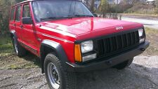 Jeep Cherokee XJ Front Bumper Non Winch With D Ring Tow Points