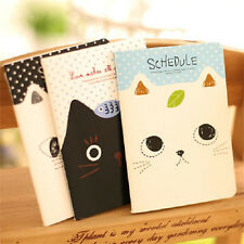 FD2420 Sweet Cat Notepad Memo Paper Diary Notebook Exercise Schedule Book 1pc ♫