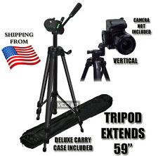 """59"""" TRIPOD FOR CANON REBEL XSI XS T1i T2i T3i T4i T5i D600 700D  XT 60D 7D"""
