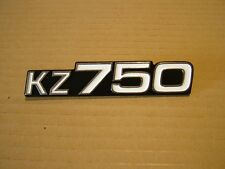 KAWASAKI KZ750 FOUR, KZ750 TWIN,  SIDE COVER BADGE NEW REPRODUCTION