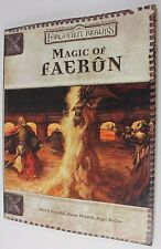 D&D Dungeons & Dragons Forgotten Realms Magic of Faerun 3rd Ed 2001 Paperback