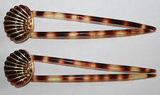 Paire de  Peignes à Chignon ART DECO (Old haircomb)