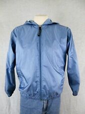 Women's Vintage Lavon Jacket, Medium, Blue with white Stripes, Made Russia