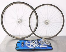 Suntour Superbe Pro NJS Track Kit Crankset BB Wheelset 48 49 50 51t Chain Rings
