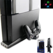 7 in1 P4 Console Dock+Cooling Fan+Controller Charger Stand for Playstation PS4