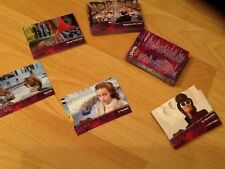 Full set of 89 TRADING CARDS  Charlie and the Chocolate Factory fIlm MINT UNUSED