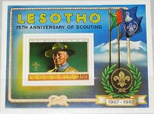 LESOTHO 1982 Block 13 S/S 362 Boy Scouts Baden Powell Pfadfinder Scouting Year**