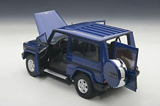 AUTOART MERCEDES BENZ G MODEL 90'S SWB BLUE 1:18*New Release!