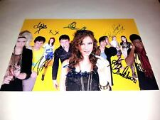 "SKINS CAST X6 PP SIGNED POSTER 12""X8"" inch SEASON 3 / 4 NAOMI EMILY COOK EFFY"
