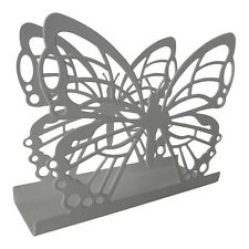 White Butterfly Napkin Holder – Serviette – Dispenser – Metal – Dining – Kitchen
