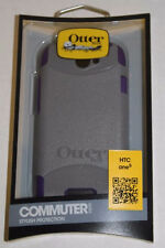 OtterBox Commuter Series Case for HTC One S - Gray/Purple
