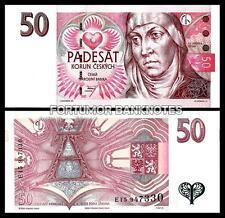 CZECH REPUBLIC 50 KORUN 1997 UNC P 17