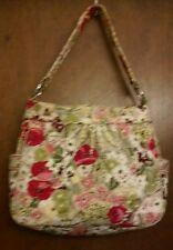 VERA BRADLEY REVERSIBE TOTE IN RETIRED MAKE ME BLUSH 2 BAG PATTERNS IN ONE!