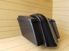 SOFTAIL 4¨STRETCHED SADDLEBAGS-LIDS AND REAR OVERLAY FENDER FOR HARLEY DAVISON