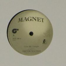 "TREVOR WALTERS / ITAL ALL STARS 'LOVE ME TONIGHT' UK 7"" SINGLE"