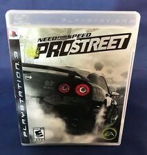 Need for Speed: ProStreet (Sony PlayStation 3, 2007) Complete in Case