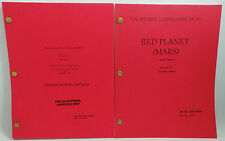 RED PLANET / MISSION TO MARS : SET OF 2 MOVIE SCRIPTS.                  REF: C90