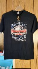 BOSTON RED SOX TEE LARGE BLUE WORLD CHAMPIONS 2013 NEW WITH TAGS  SHORT SLEEVE