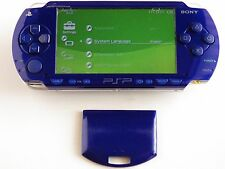 ORIGINAL SONY PSP 1000 BLUE CONSOLE WITH BATTERY NOT WORING TO READ UMD