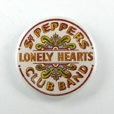 Sgt Pepper Lonely Hearts Club Band Beatles - Button Badge - 25mm 1 inch