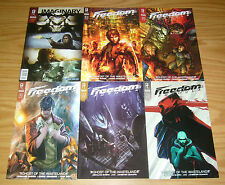 Freedom Formula #1-5 VF/NM complete series + fcbd - illegal street racers 2 3 4