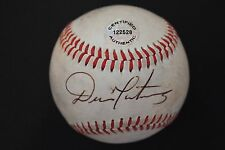 DENNIS MARTINEZ Orioles Expos Autographed MiLB Signed Baseball Certified