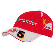 2016 OFFICIAL Scuderia Ferrari Puma F1 Vettel #5 Baseball Cap Hat Red - NEW