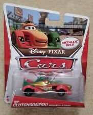 Disney Pixar Cars 2 • Rip Clutchgoneski with Metallic Finish • Metallic Deco