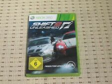 Need for Speed Shift 2 Unleashed para Xbox 360 xbox360 * embalaje original *