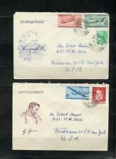 EAST GERMANY DDR LOT III OF 22 DIFFERENT COVERS & FIRST DAY COVERS AS SHOWN