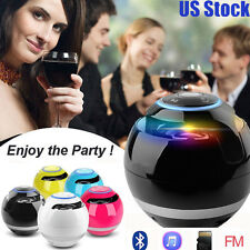 Super Bass Colorful Portable Wireless Stereo Bluetooth USB Speaker for Tablet PC
