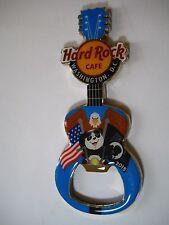 WASHINGTON DC,Hard Rock Cafe,Magnet Bottle Opener Pin craft Bear 2015