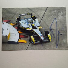 NELSON PIQUET JR. Formel 1 (28 F1 Starts) In-person signed Photo 20x30 Autogramm