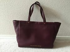 NEW MARC BY MARC JACOBS What's the T Tote Purple Leather Handbag