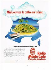 PUBLICITE ADVERTISING  054  1979  RMC radio  ouvrez le coffre