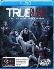 TRUE BLOOD - THE COMPLETE THIRD SEASON (BLU-RAY) (REGION B ) VIEWED ONLY ONCE