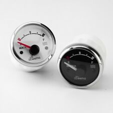 WEMA WATER GAUGE  White Face Stainless Bezel Level Sensor Sender Unit WGWH