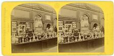Vue stéréo photo Exposition Universelle 1867  Porcelaine de la rue de Belgique