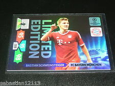 Champions League 2013/2014 Adrenalyn XL Bastian Schweinsteiger Limited Edition