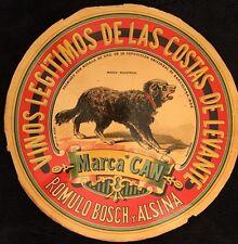 """ROMULO BOSCH Y ALSINA """"MARCA CAN"""""""