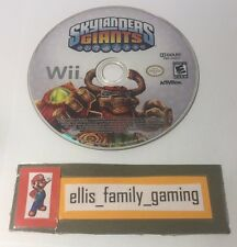 Skylanders Giants Nintendo Wii / Wii U Game Disc Only - Works Great - Ships Fast
