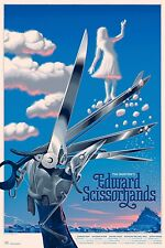 Edward Scissorhands Regular Alt Movie Poster by Laurent Durieux No. /425 NYCC