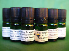 6 Therapeutic Grade Pure Essential Oils, 5mls, Eurodroppers, Clean Home Set, SDC