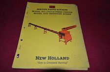 New Holland 571 Cycle Timed Feeder Dealer's Parts Book Manual RWPA