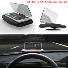 Car GPS Navigation Holder HUD Head Up Projection Display Non-slip Phone Bracket