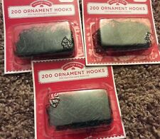"""Green Holiday Time 600 1"""" Ornament Hooks Christmas Tree Decoration Wire Hangers"""
